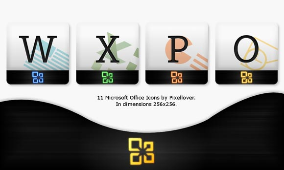 Microsoft Office 2010 Icons by Pixellover