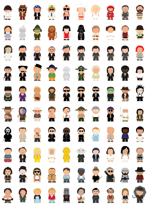 Movie Icons by JoepGerrits