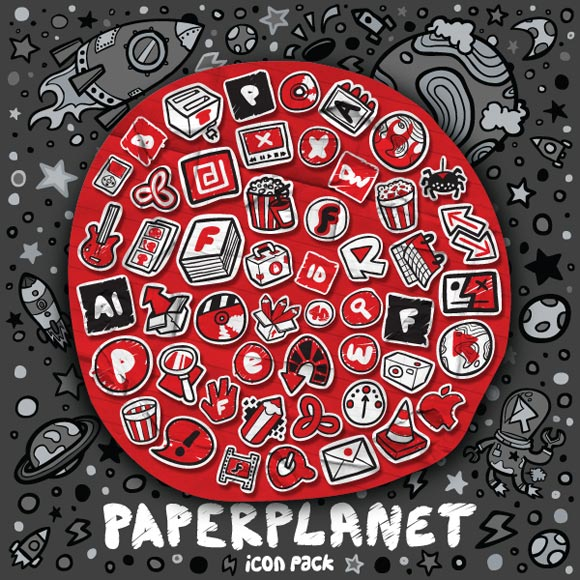 PaperPlanet Icon Pack by Tokyo-go-go