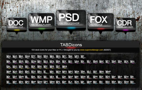 TABDicons by Skm-industries