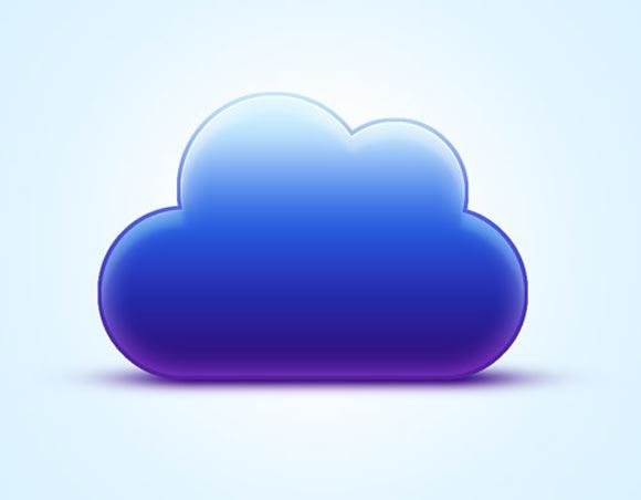 Vibrant Cloud Icon Tutorial