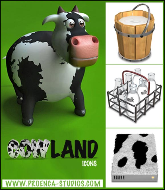 CowLand Icons by Proenca