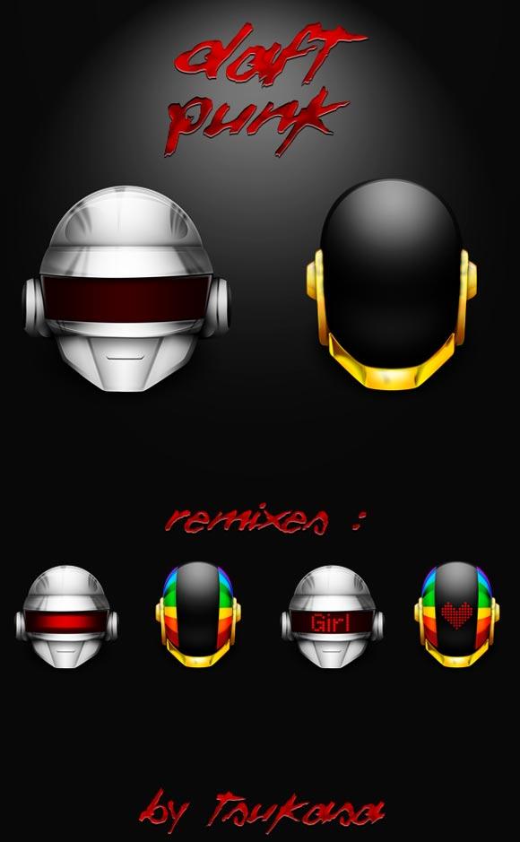 Daft Punks by Tsukasa-Tux