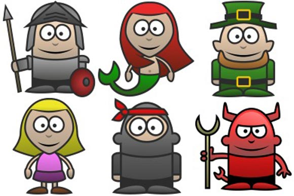 Character Icons by Martin Berube