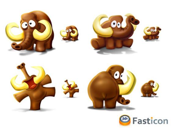 Mammoth Icons