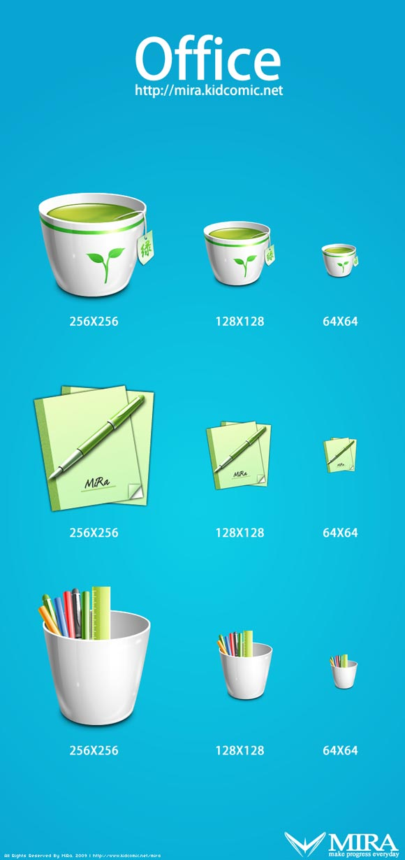 Office Icons by Mira