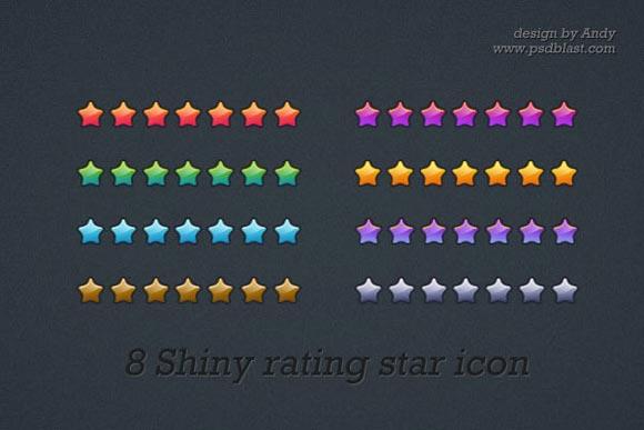 Rating Star Icon by Psdblast