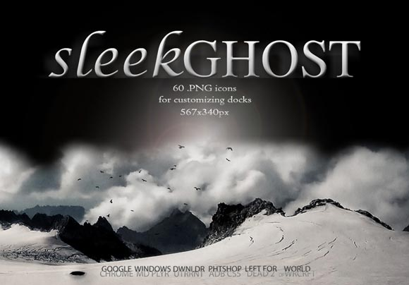 SleekGhost Dock Icons by Natosaurus