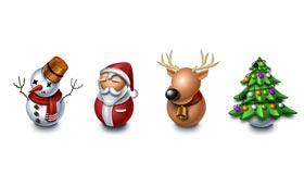 Christmas Icon by Kidaubis