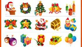 28 Christmas Vector Icon RS