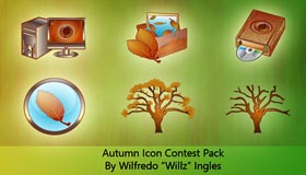 Autumn Icons By Will Ingles