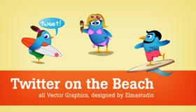 Twitter On The Beach