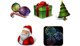 Holiday Seasonal Icons