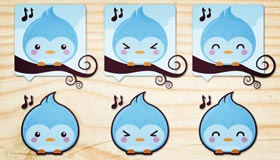Lovely Twitter Icons by Catmy