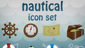 Nautical Icon Set by Manda-pie