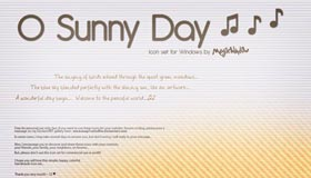 O Sunny Day Icon Set by Mag1cWind0w