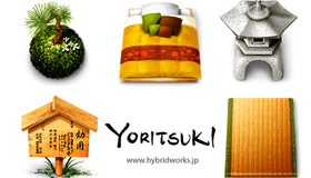 Yoritsuki Icons by HYBRIDWORKS
