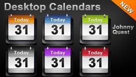 Desktop Calendar by Jquest68
