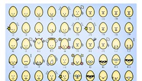 Egg Emoticons by Hansendo