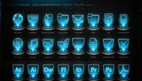 Holographic Icon Pack v.1.2 by Radvisual