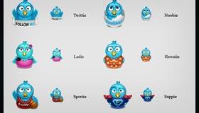 Fresh Twitter Icon Pack