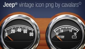 Old Jeep Dashboard by Cavalars