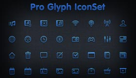 Pro Glyph Iconset by Umar123