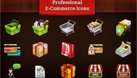 Professional E-commerce Icons