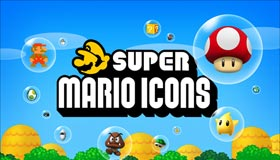 Super Mario Icons by Ph03nyX