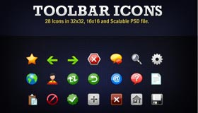 28 Toolbar Icons