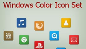 Windows Color Icon Set by Mitch-94