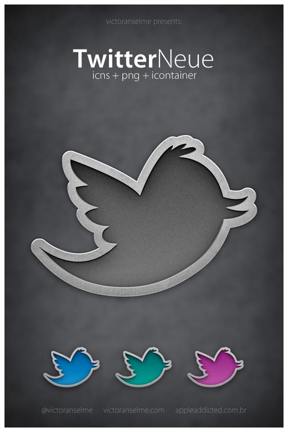 Twitter Neue by Victoranselme