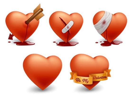 Free Happy Valentines Day Icons