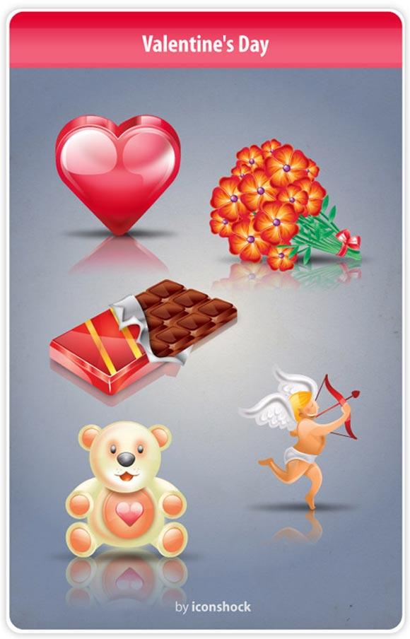 V-Day Icon Set