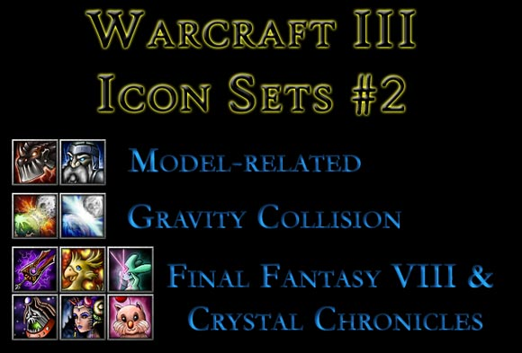 Warcraft III Icon Set #2 by I3lackDeath